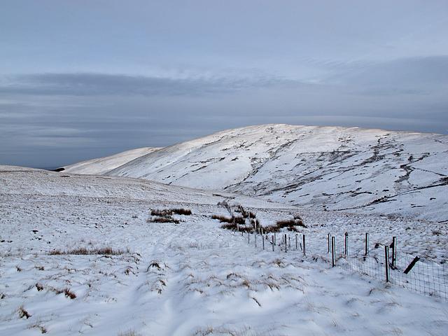 View across Glen Anny