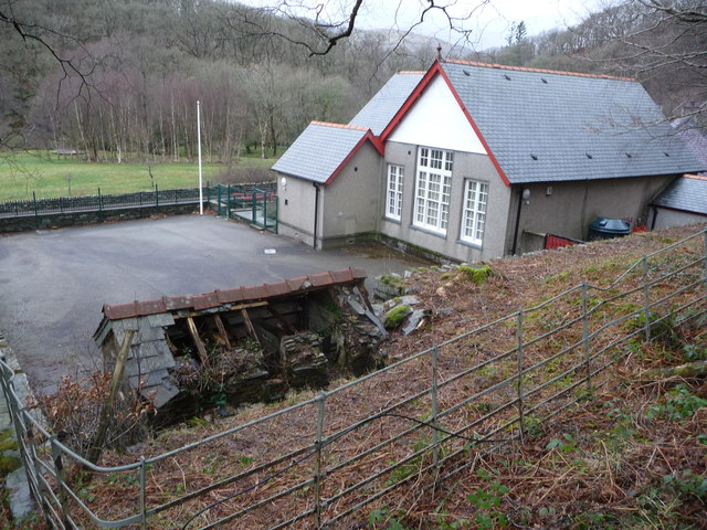 Old village school, Capel Curig
