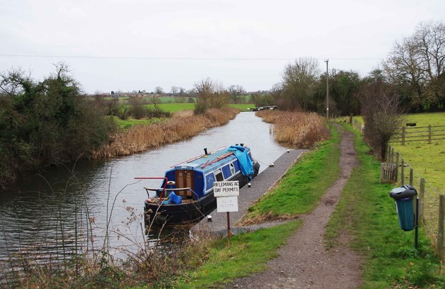 Droitwich Barge Canal near Ladywood Lock