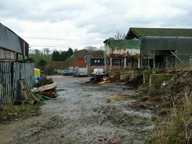 Bore Place farmyard