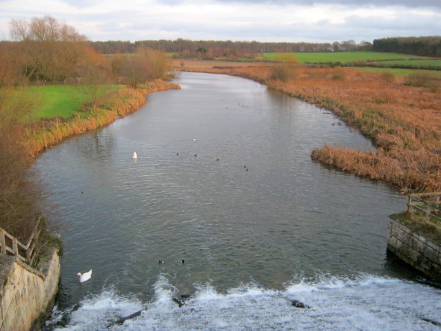 River Poulter east of Clumber Lake