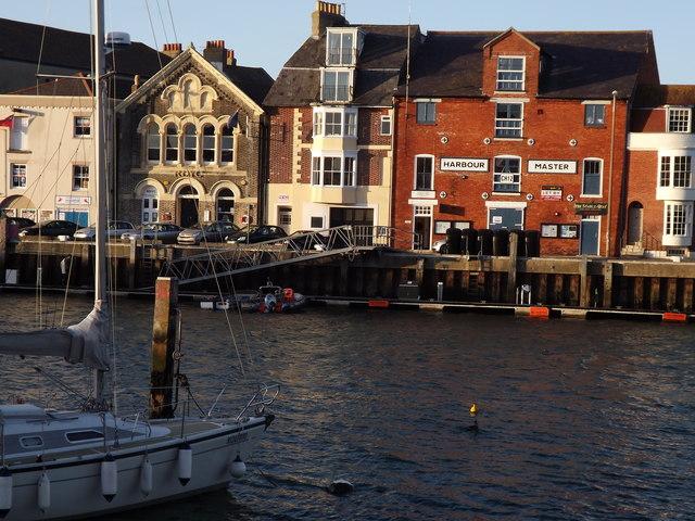 Custom House Quay at Weymouth