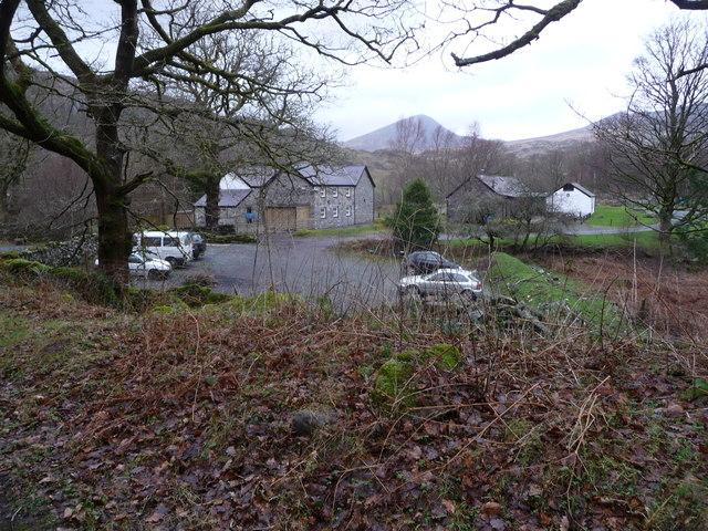 Buildings at Bryn-engan near Capel Curig