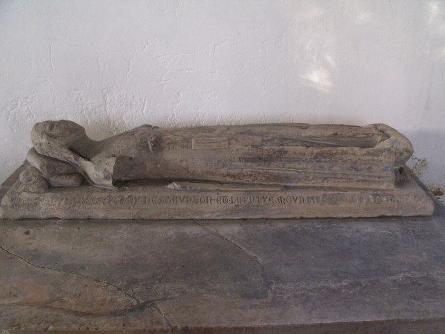 Dame Joan de Staunton Effigy, St mary's church, Staunton