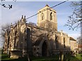 SK8043 : St Mary's church, Staunton-in-the-Vale by J.Hannan-Briggs