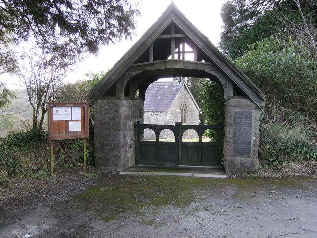 St. Cledwyns Church entrance