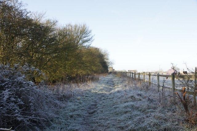 Footpath to the farm
