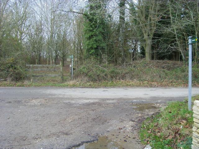 Path by Wilcote Grange