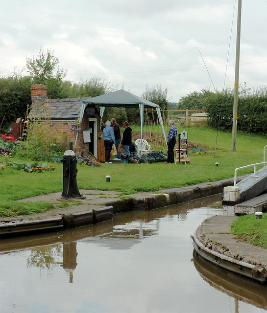 The shop by the lock, Audlem, Cheshire