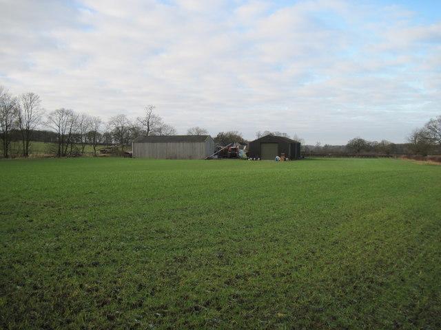 Field  to  Glebe  Farm