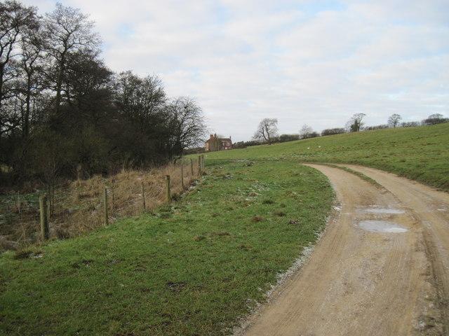 Track  to  Baffam  Farm