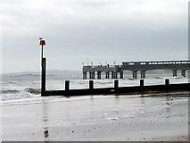 SZ1191 : Groyne and pier, Boscombe by Maigheach-gheal