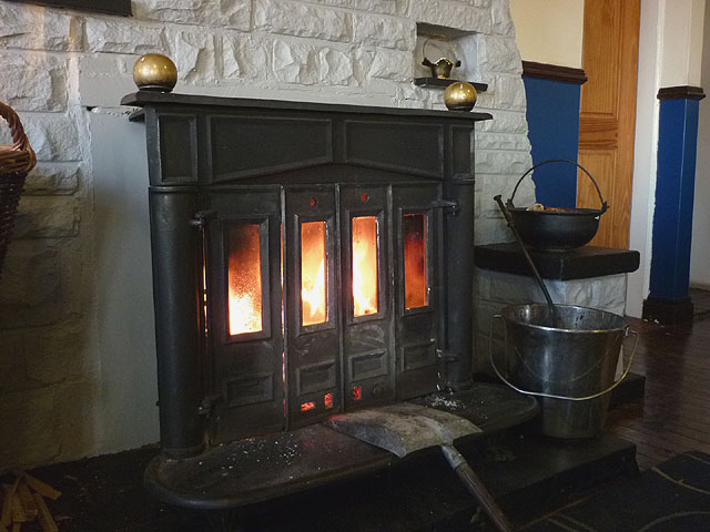 The fire at Hartside Top Cafe