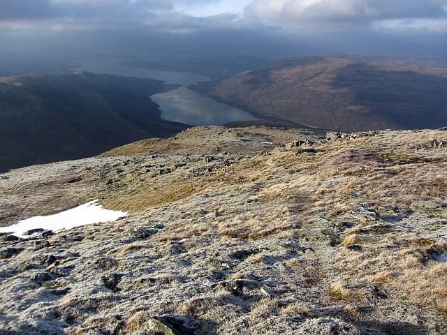 West ridge of Meall Garbh