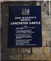 SD4761 : Her Majesty's Prison, Lancaster Castle by Ian Taylor