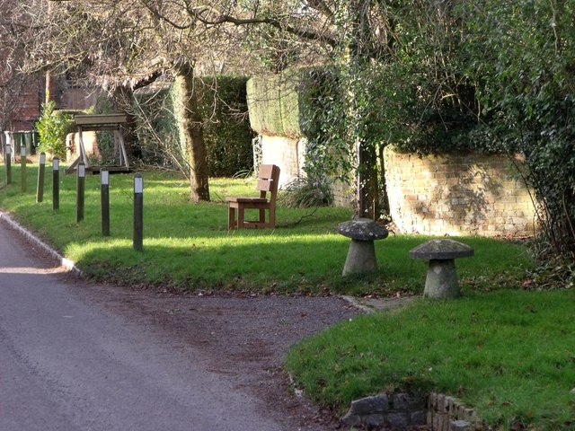 Verge 'furniture', Blackstone, West Sussex