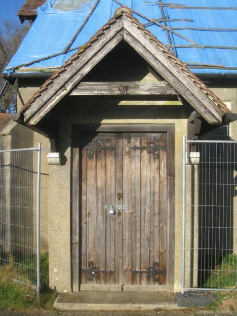 St John's - main doorway