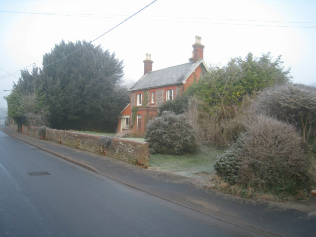 A frosty Hill Road