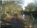 SU7552 : Tow path at Broad Oak by Given Up