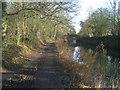 SU7552 : Tow path at Broad Oak by Sandy B