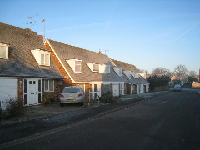 A frosty morning - The Vale, Oakley