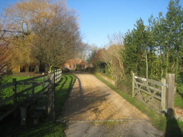 Path & private driveway