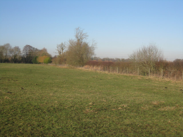 Grazing field by Poland Mill