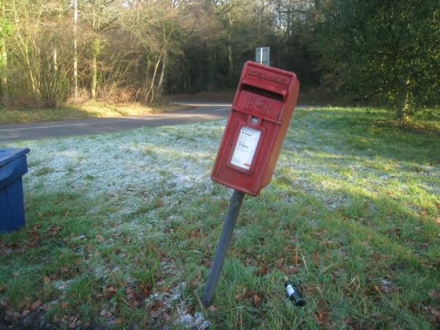 Drunk postbox?