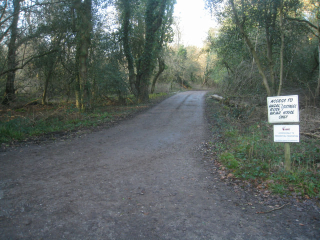Access to Odiham Wood