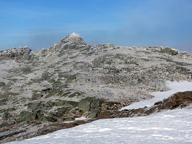 Summit, Beinn Sgulaird