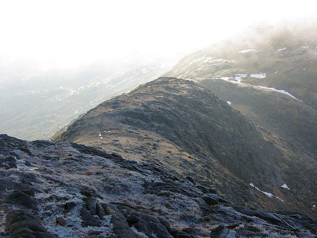 South ridge of Beinn Sgulaird