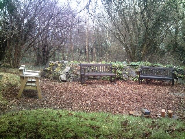 Old School Garden, Llanteg