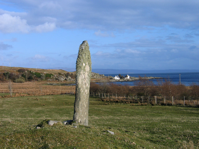 Standing stone at Tarbert
