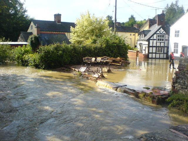 Bettws Flood 2007