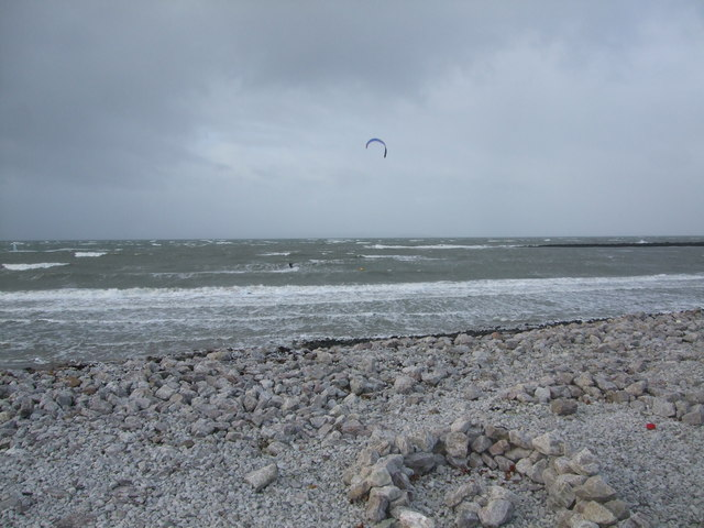 Kite surfing West Shore Llandudno