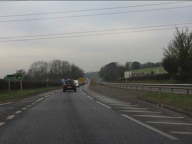 A491 west of the roundabout