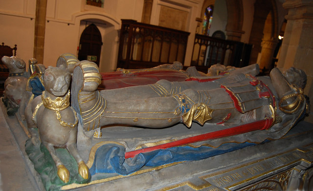 Tomb of Sir Anthony Browne & wife, Battle church