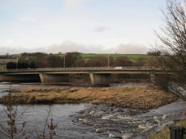 Road Bridge over River South Tyne at Haydon Bridge