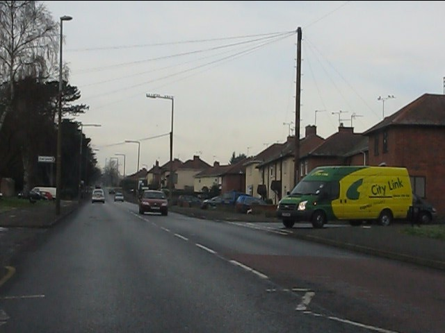 South Road at Studley Gate