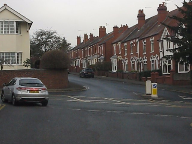 Terraced housing on Bridle Road