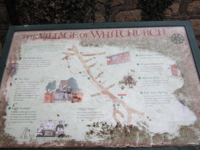 Whitchurch information board