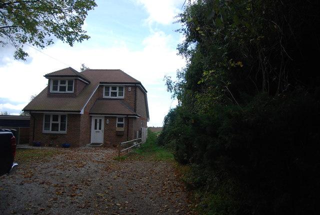 Last house on Vicarage Lane