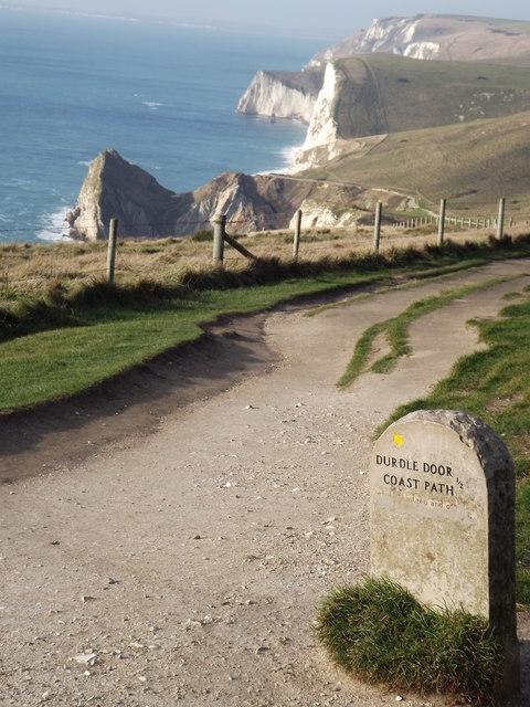 Coast Path to Durdle Door
