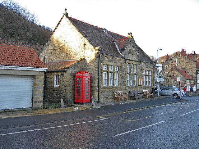 K6 phonebox, Sandsend