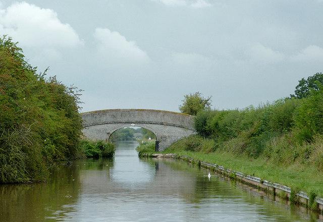 Approaching Mickley Bridge near Hack Green, Cheshire