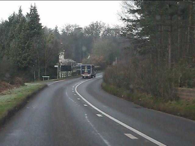 A458 near Clanbrook