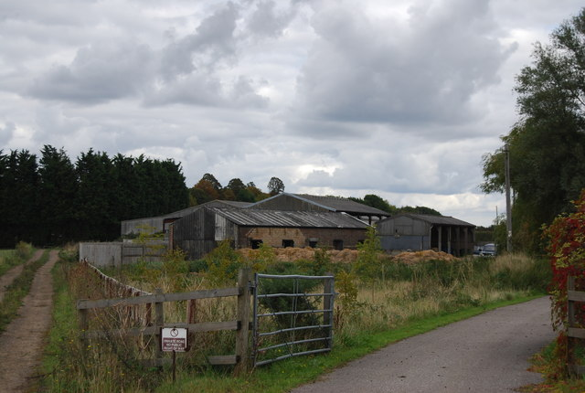 Farm buildings, Claydon Hall