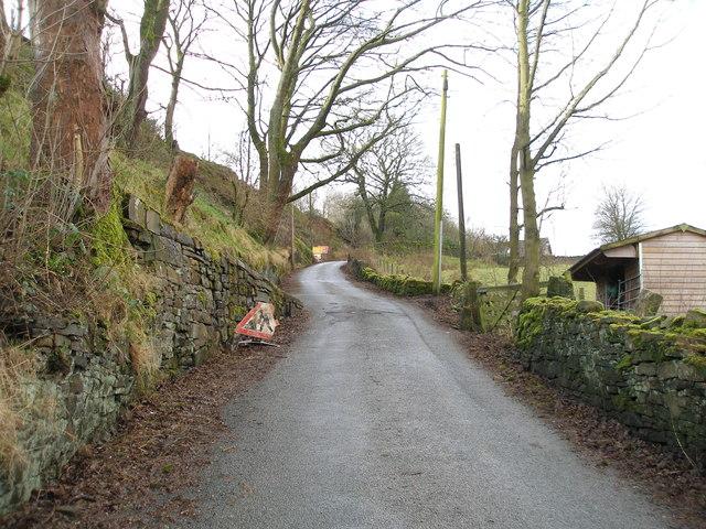 Inchfield Road, Walsden