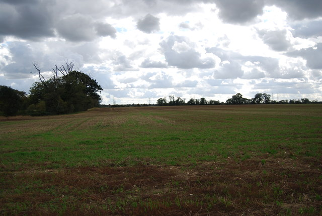 Farmland, Claydon Hall