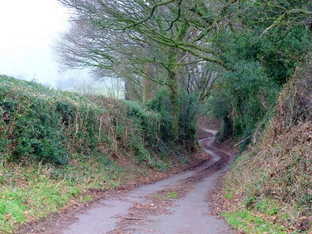Uphill to Penrhewr